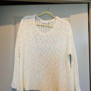 Cream Crochet Boho Top